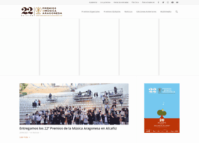premiosdelamusicaragonesa.com