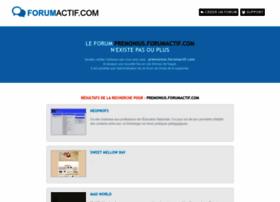 premonius.forumactif.com