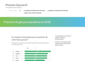 prenom-garcon.fr