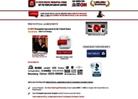 prenuptialagreementform.com