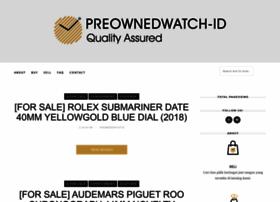 Preownedwatch.blogspot.com