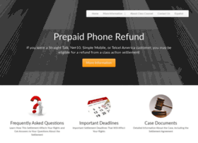 prepaidphonerefund.com