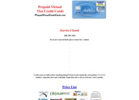 prepaidvirtualcreditcards.com