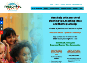 preschool-plan-it.com