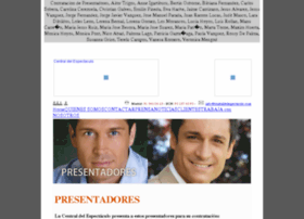 presentadores.centraldelespectaculo.com