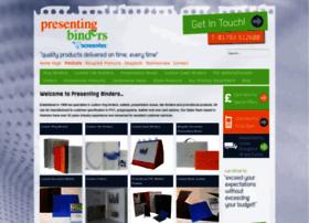 presentingbinders.co.uk