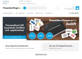 presentkortstorget.se