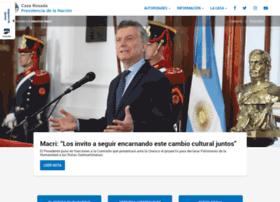 presidencia.gob.ar