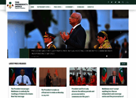 presidencymaldives.gov.mv