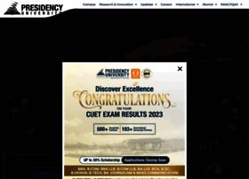presidencyuniversity.in