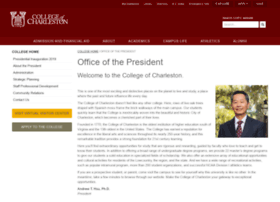 president.cofc.edu