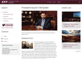 president.eku.edu