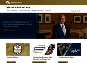 president.gatech.edu