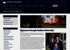 president.georgiasouthern.edu