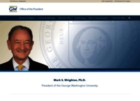 president.gwu.edu