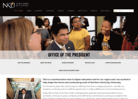 president.nku.edu