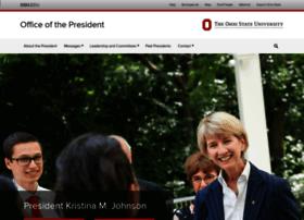 president.osu.edu