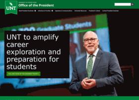 president.unt.edu