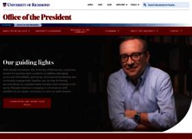 presidentelect.richmond.edu
