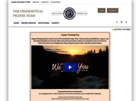 presidentialprayerteam.com