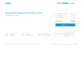 presidentialuniversity.com
