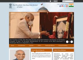 presidentofindia.gov.in