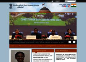 presidentofindia.nic.in