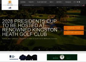 presidentscup.com