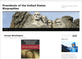 presidentsoftheunitedstatesbiographies.com