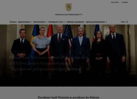 presidentti.fi