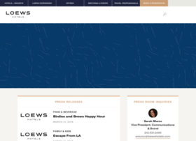 press.loewshotels.com