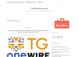 press.onewire.com
