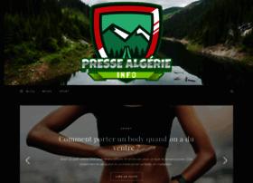 presse algerie info presse algerie la presse algerienne algerieinfo