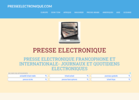 presseelectronique.com