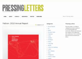 pressingletters.com
