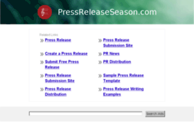 pressreleaseseason.com