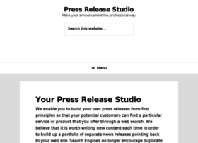 pressreleasestudio.com