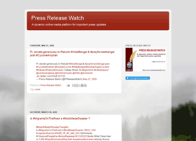 pressreleasewatch.blogspot.in