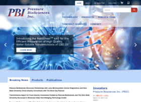pressurebiosciences.com