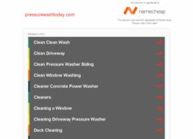 pressurewashtoday.com