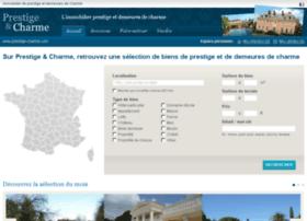 prestige-et-charme.com