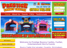 prestigebouncycastles.co.uk