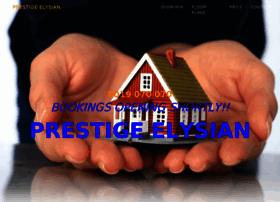 prestigeelysian.co.in