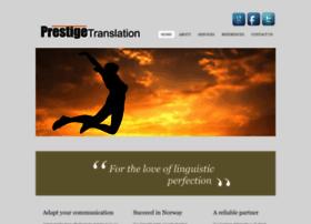 prestigetranslation.com