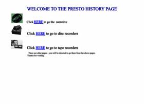 prestohistory.com