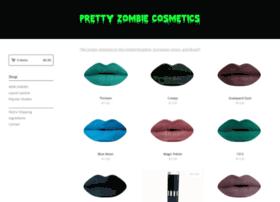 prettyzombiecosmetics.com