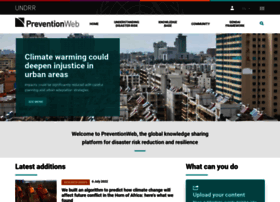 preventionweb.net