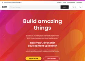 preview.npmjs.com
