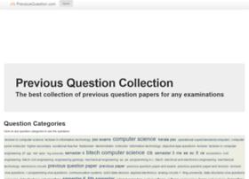 previousquestion.com