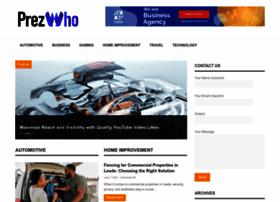 prezwho.com